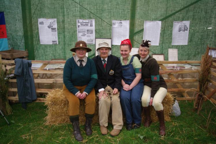 Land Girls with Fred Hams